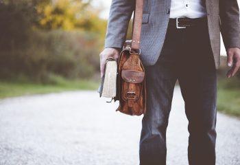 Lehrer Buch Tasche