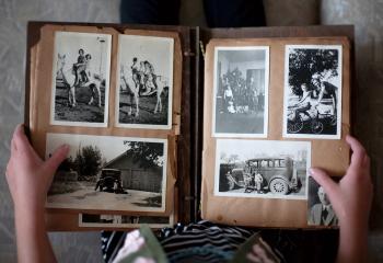 Altes Fotobuch Bilder